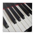 El piano cierra la fotografía azulejo