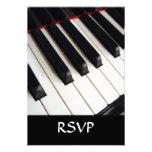 El piano cierra la fotografía comunicado personalizado