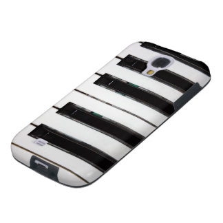 El piano cierra la galaxia S4, caso de Samsung del Funda Para Galaxy S4