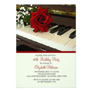 El piano cierra la invitación