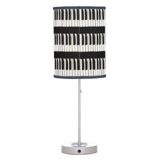 El piano del tema de los músicos cierra la lámpara