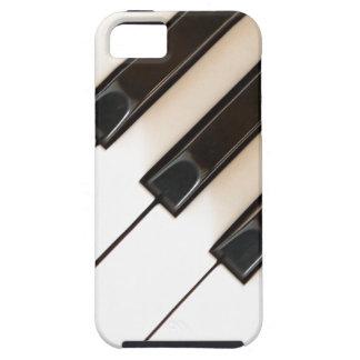 El piano del vintage cierra el caso del iphone 5 iPhone 5 cárcasa