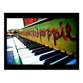 El piano, Denver céntrica [postal]