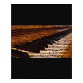 """el PIANO piano-317026 OBSERVA AL COMPOSITOR de la Folleto 4.5"""" X 5.6"""""""