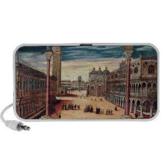 El Piazzetta di San Marco, Venecia iPod Altavoces