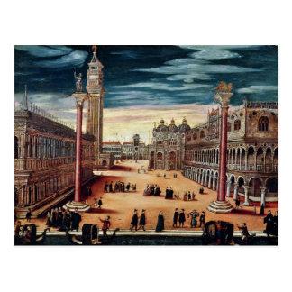 El Piazzetta di San Marco, Venecia Postales