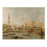 El Piazzetta y el Palazzo Ducale Postal