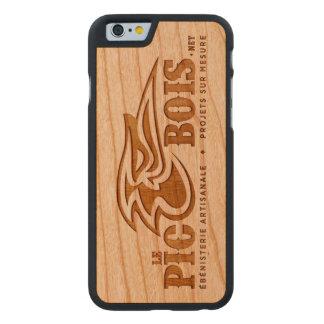 El PicBois - iPhone 6 Casilla Funda De iPhone 6 Carved® Slim De Cerezo