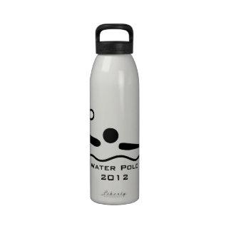 El pictograma olímpico se divierte la botella de l botella de beber