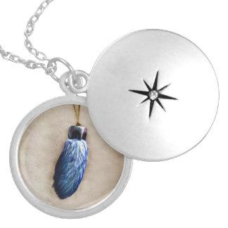 El pie de conejo afortunado azul joyerias personalizadas