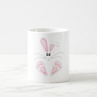 El pie de conejo taza de café