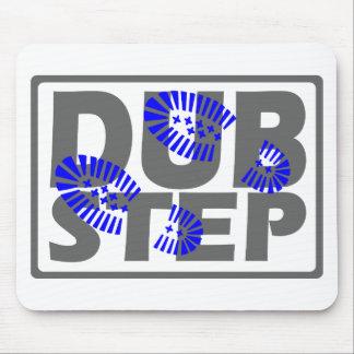 El pie de Dubstep pisa fuerte diseño Alfombrillas De Ratones