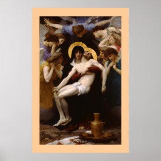 El Pieta por Bouguereau Póster