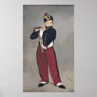 El pífano, 1866 póster