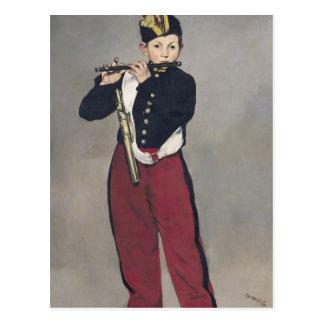 El pífano, 1866 tarjeta postal