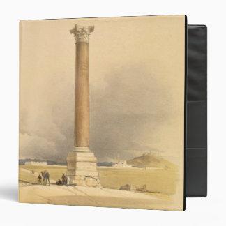 """El pilar de Pompey, Alexandría, de """"Egipto y de Nu"""