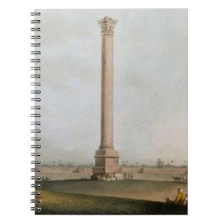 """El pilar de Pompey, platea 14 de """"opiniónes en Egi Libros De Apuntes Con Espiral"""