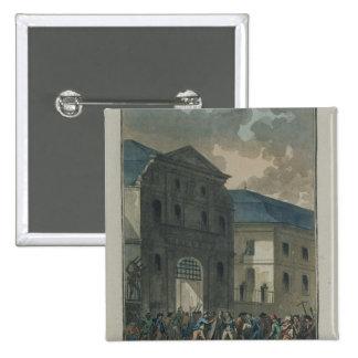 El pillaje del convento del Santo-Lazare Pin Cuadrado