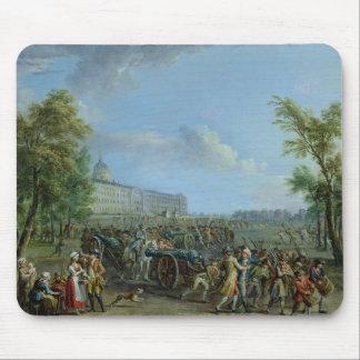 El pillaje del Invalides, el 14 de julio de 1789 Tapete De Raton