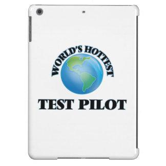 El piloto de la prueba más caliente del mundo