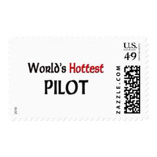 El piloto más caliente de los mundos