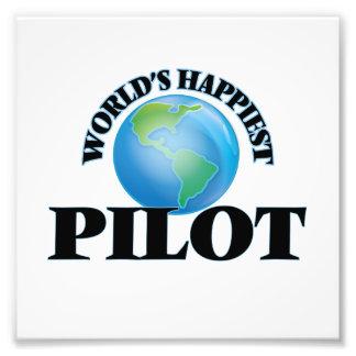 El piloto más feliz del mundo cojinete