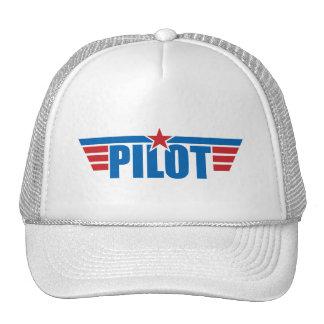 El piloto se va volando la insignia - aviación gorros bordados