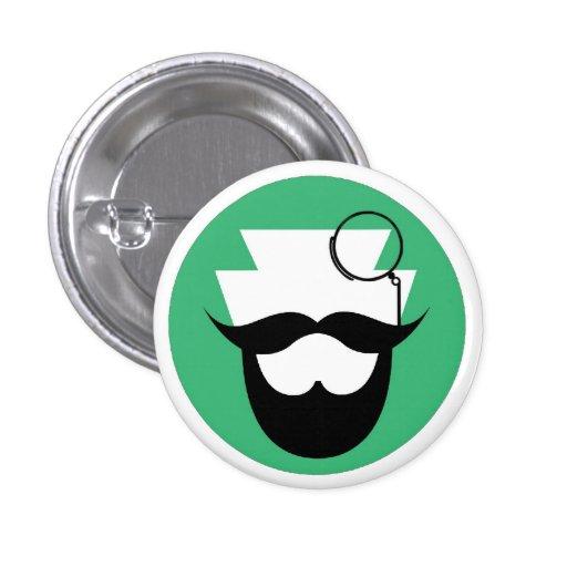El Pin de los caballeros barbudos del PA