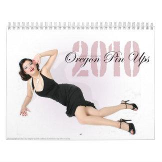 El Pin de Oregon sube Calendarios De Pared
