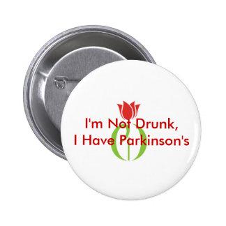 El Pin de Parkinson Pin Redondo 5 Cm