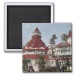 El Pin del cuadrado del hotel de Del Coronado Imán