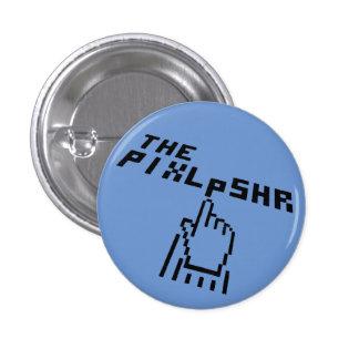 El Pin del negro del logotipo de Pixl Pshr