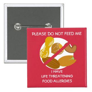 El Pin peligroso para la vida de la alergia de la