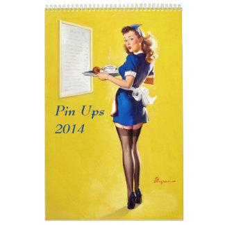 El Pin sube 2014 Calendario De Pared