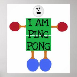 El ping-pong es vida posters