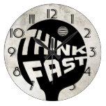 El ping-pong piensa rápidamente relojes