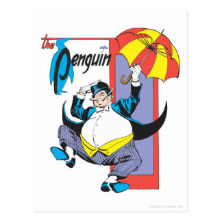 El pingüino 2 tarjetas postales