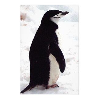 El pingüino más lindo, nunca papeleria personalizada