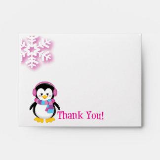 El pingüino rosado le agradece sobre