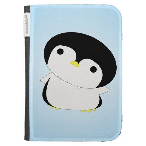 El pingüino tímido del bebé dice que hola encienda
