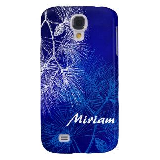 El pino azul y blanco Samsung de encargo del invie