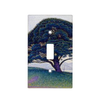 El pino de Bonaventure de Paul Signac Cubierta Para Interruptor
