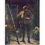 El pintor en el caballete de Daumier Honoré Esculturas Fotográficas