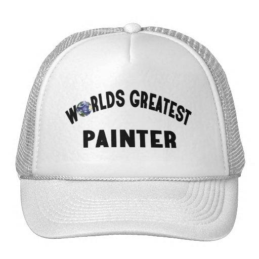 El pintor más grande de los mundos gorras