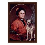 El pintor y su autorretrato del barro amasado por  tarjeton