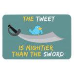 El pío es más poderoso que la espada iman flexible