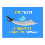 El pío es más poderoso que la espada tarjeta postal