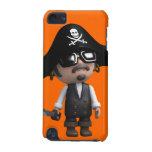 el pirata 3d lleva las gafas de sol (editable)