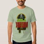 El pirata androide camisas