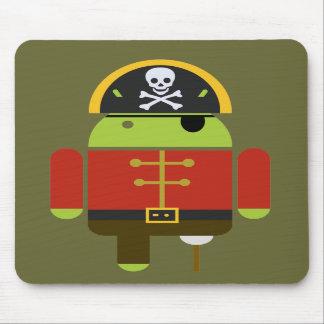 El pirata androide Mousepad